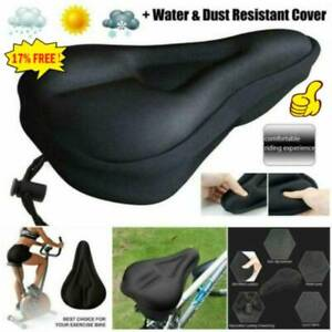 Bike Cycle Bicycle Extra Comfort Gel Pad Cushion Cover For Saddle Seat 2021