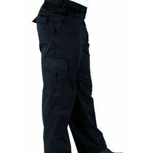 ABSOLUTE APPAREL WORK TROUSERS FLAT FRONT STYLING SEWN IN FRONT SEAM