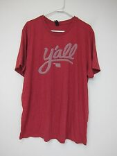 Very Important Tee Y'all Oklahoma T-Shirt - Mens 2XL - Red - New