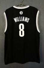 ADIDAS DERON WILLIAMS NBA BROOKLYN NETS BASKETBALL SHIRT JERSEY CAMISETA SIZE L