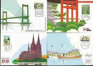 ALAND 1991 Ausstellungskarten/Exhibition Cards komplett