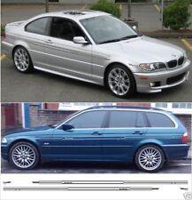 BMW E46 Alpina Stil Nadelstreifen Seitenstreifen Aufkleber 318,320,323. 325,330