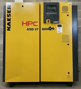 HPC / Kaeser ASD37 Rotary Screw Compressor, 22.0Kw, 30Hp, 110Cfm, 10Bar!
