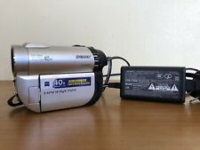 SONY HANDYCAM - MINI DVD CAMCORDER - DCR-DVD610 - CHARGER- TESTED CARL ZEISS
