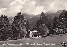 # SELLA VALSUGANA: VILLA A. DE GASPERI - soggiorno estivo - 1960