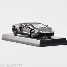 1/64 Lamborghini Aventador LP 700-4 Minicar Ⅳ Black Kyosho Diecast Car Model