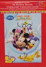 32 Mickey Mouse Club House Valentine Cards - New in Box