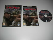 SNIPER - ART OF VICTORY  Pc Cd Rom  - FAST SECURE DISPATCH