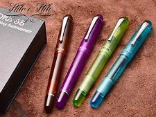 Opus 88 Picnic Pen Fountain Pen Opus88 Picnic Check Demo Eyedropper