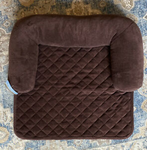 "Chair Bolster Pillow Furniture Cover For Pets - Chocolate - 30""x30"" NEW"