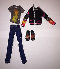 Monster High Home Ick Double Recipe Heath Burns Boy Doll Outfit Clothes & Shoes