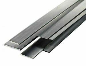 Streifen Edelstahl 30x2mm-90x12mm Blech 0.5 Meter zugeschnitten Flachstange