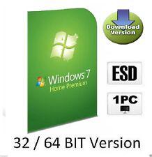 Windows 7 Home Premium OEM multilenguaje activación-clave 32/64 bits