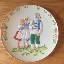 'Mountain Cure' Hamilton Collection Plate Story Of Heidi