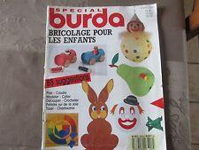 REVUE -  BURDA - BRICOLAGE pour ENFANTS - 43 PAGES