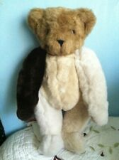 16' Vermont Teddy Bear  Jointed Bear  very good condition