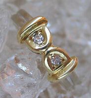 Wow✪ Diamant Ring in aus 585 Gold Ring mit Brillanten Brillant Ring with Diamond