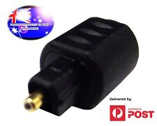 From OZ Quality 1PC TOSLINK Optical Adapter 3.5mm Female Socket To Digital Plug