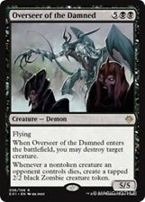 OVERSEER OF THE DAMNED Archenemy: Nicol Bolas MTG Black Creature — Demon Rare