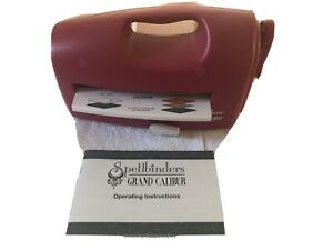 Spellbinders Grand Calibur machine with 3 Plates