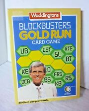 Waddingtons Blockbusters Gold Run Card Game 2 Player Ages 12+ 1985 ITVs Quiz