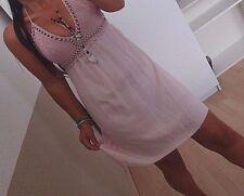 Tunika Kleid Neu XS S M Spitze ITALY BLOGGER Trend Hippie Boho Musthave Urlaub