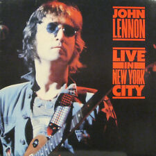 "JOHN LENNON ""LIVE IN NEW YORK CITY""  lp Italy mint"
