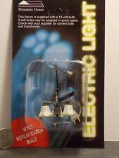 Dollhouse Miniature Electric Light Modern Chandelier 1:12 one inch scale J17