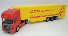 Jono Toys Scania Dgo Express Semi Trailer Truck 1/64 Diecast