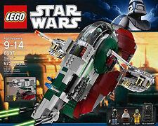 Neuf Scellé LEGO Star Wars 8097 Boba Fett's Slave 1 XLNT RARE