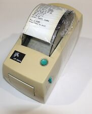 Zebra LP2824 Thermal Printer - Working  Case shows Yellowing no power supply