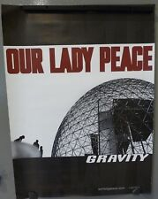 Our Lady Peace 2002 18x24 Gravity Double Sided Concert Tour Lp Cd Record Poster