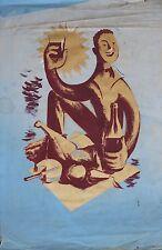 Claude BIGNOLAS Grand projet affiche Imprimerie Strasbourgeoise Cher vin wine