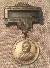 Grand Army Republic 39 National Encampment Badge August 1937