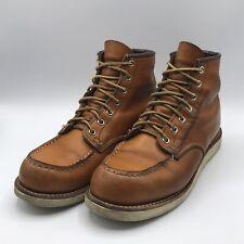 Red Wing Irish Setter 2nds 9875 Moc Toe Men's Sz 8.5D Gold Russet Sequoia