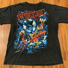 Vtg Venom Shirt Mad Engine Medium Size Small No Tags Holes At Bottom Cotton