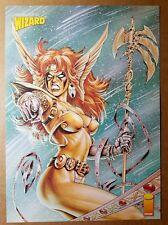 Angela Spawn Image Comics Poster by Joseph Michael Linsner