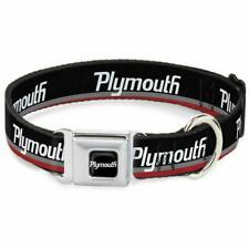 Dog Collar Seat Belt Licensed Plymouth WPLY001
