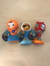 OCTONAUTS  Fisher Price Rubber Water Squirting Bath Toys ~ Complete Set
