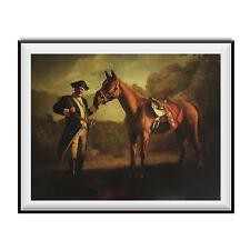 Napoleon Tony Soprano And Pie-O-My Horse Painting Poster The Sopranos Race 18x24