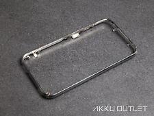 iPhone 3G 3GS Mittelrahmen Metall Rahmen Frame Bezel Chromring Frontcover Silber