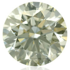 3.50 ct VVS1/9.91 mm WHITE YELLOW COLOR ROUND CUT LOOSE REAL MOISSANITE 4 RING