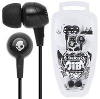 Skullcandy Jib S2DUDZ-003 Schwarz in Ohr Kopfhörer Kopfhörer Original/Brandneu