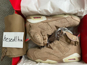 Size 11 - Jordan 6 Retro x Travis Scott British Khaki