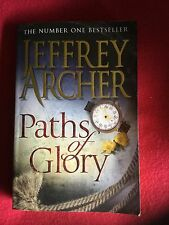 JEFFREY ARCHER - PATHS OF GLORY P/B (Sold For New Beginnings)