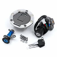 Ignition Switch Lock Fuel Gas Cap Key Set Fit For Yamaha TZR250 1KT 1987-1989 88