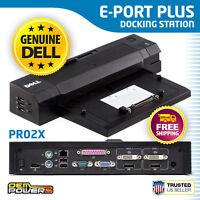 Dell E-Port Plus Dock Station Replicator PR02X E5430 E5530 E6230 E6330 E6430