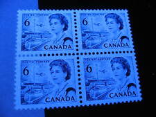 CANADA Unitrade 460ii MNH hibrite block of 4, check it out!