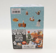 Re-ment Moomin Warm House Full Set 8 Complete