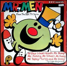 MR. MEN STORIES - Read By Arthur Lowe - UK LP BBC Records 1978 - R. Hargreaves